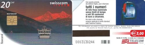 Schede: svizzera e italiana
