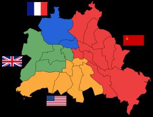 Le 4 zone di Berlino